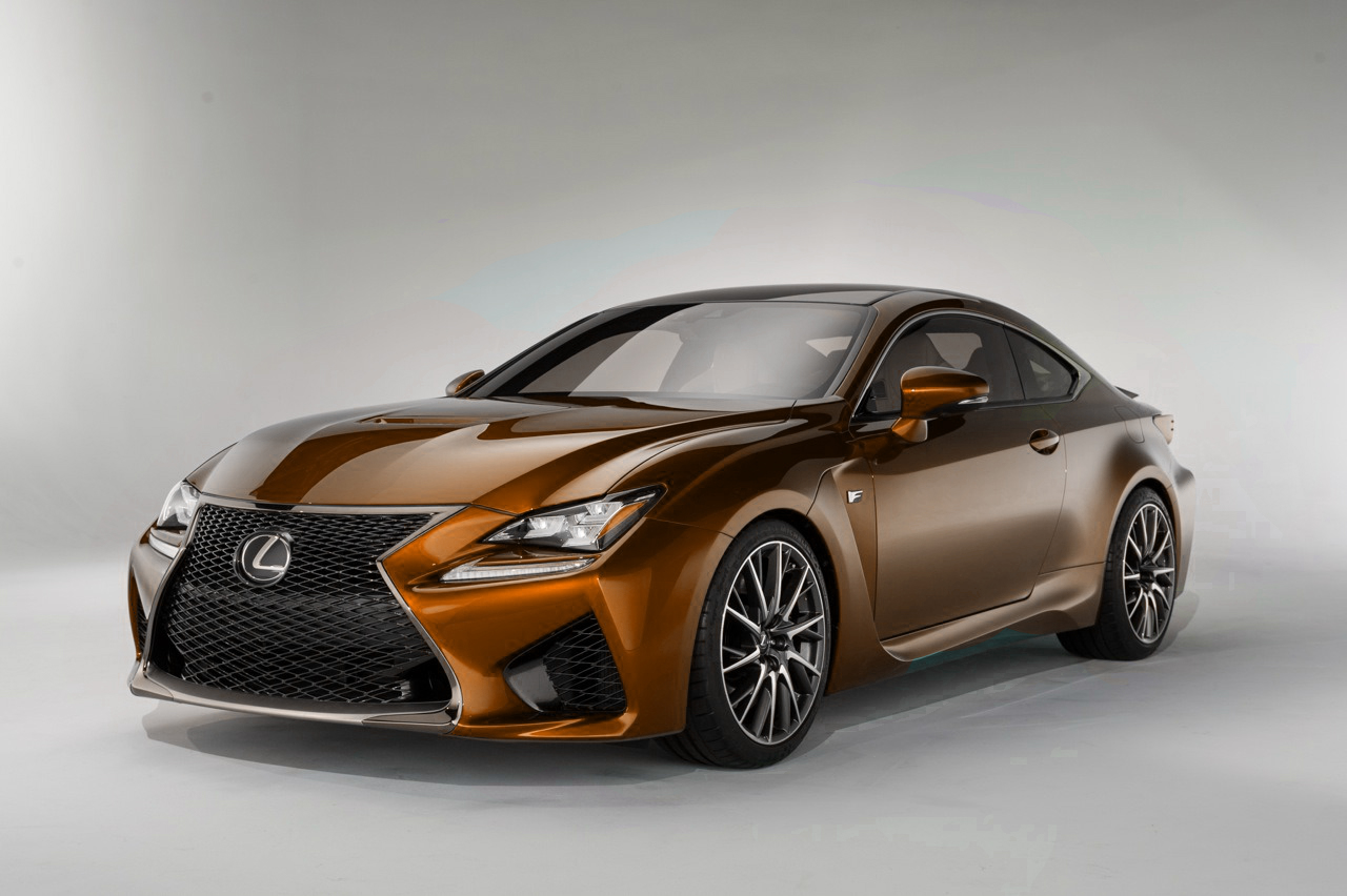 Lexus RC-F | Colored Cars